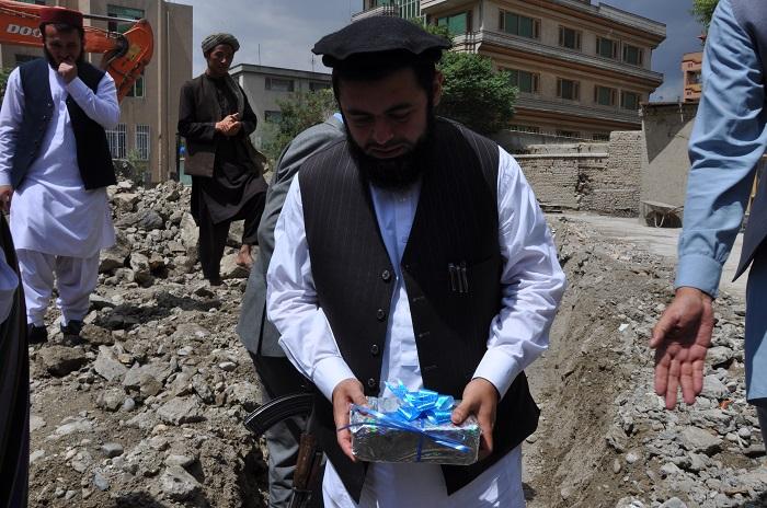 سنگ تهداب مسجد