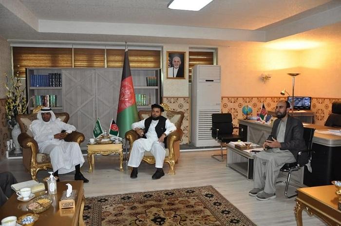 وزیر ارشاد، حج واوقاف با سفیرکشورعربستان سعودی ملاقات به عمل آورد