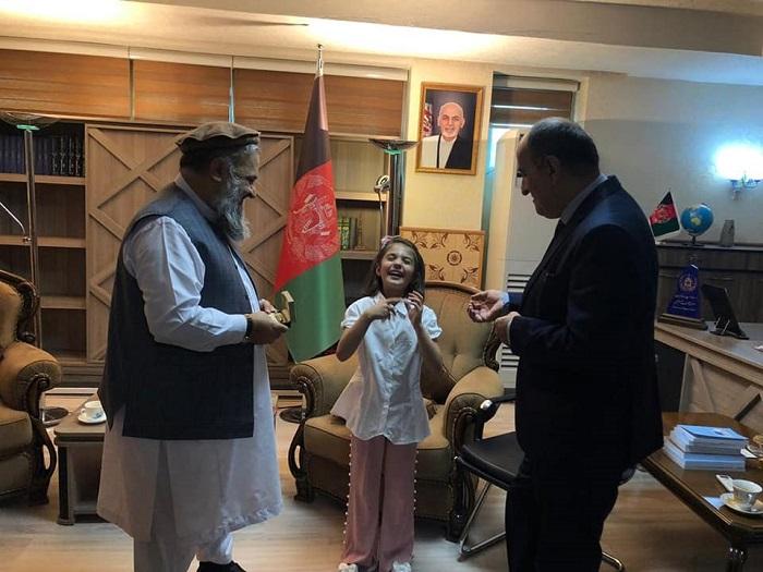 ملاقات سرپرست وزیر ارشاد حج و اوقاف با انجمن گنگان در کابل