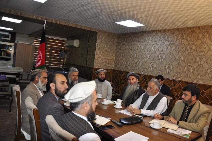 د ارشاد، حج او اوقافو وزارت سرپرست په سعودي عربستان کې د افغانستان له سفیر سره د ویډیو کنفرانس له لارې خبرې وکړې