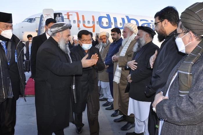 رئیس سازمان علمای محمدیه و معاون رئیس جمهور اسبق اندونیزیا به کابل رسید