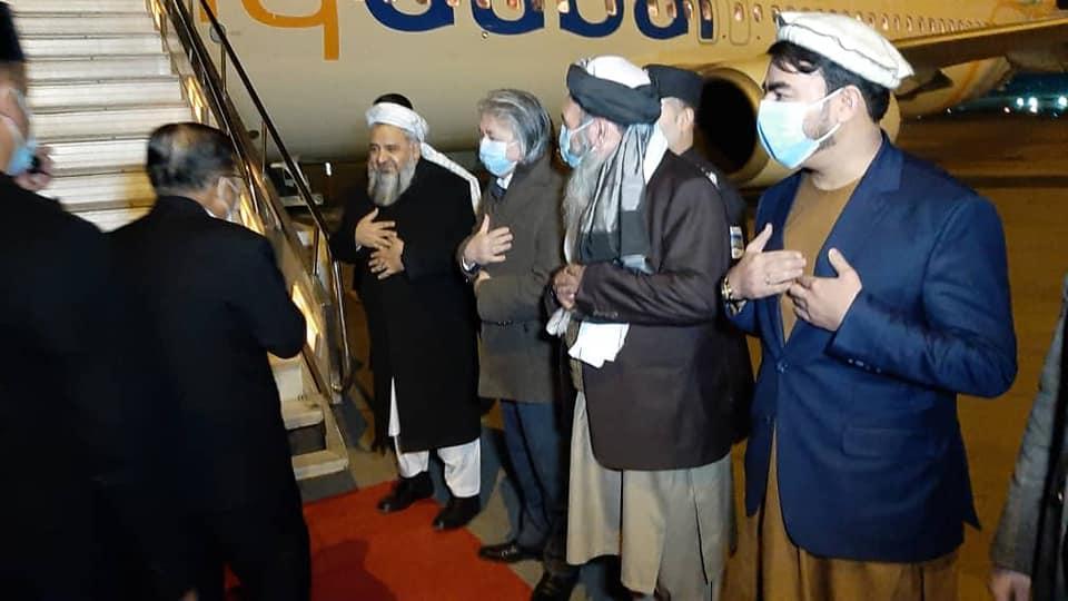 رئیس سازمان علمای محمدیه و معاون اسبق رئیس جمهور اندونیزیا و هیات همراهش بعد از سفر کاری به کابل دوباره عازم آن کشور گردیدند