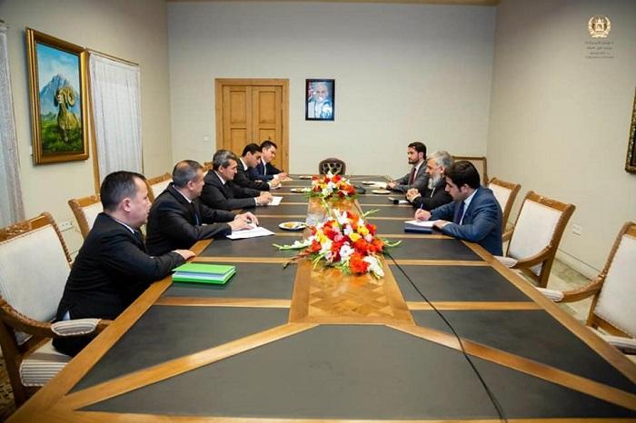 دیدار وزیر ارشاد، حج و اوقاف با وزیر خارجه کشور ترکمنستان در کابل