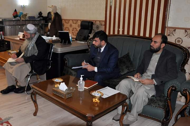 ملاقات جلالتماب وزیر ارشاد حج و اوقاف با وزیر دولت در امور شهدا و معلولین.