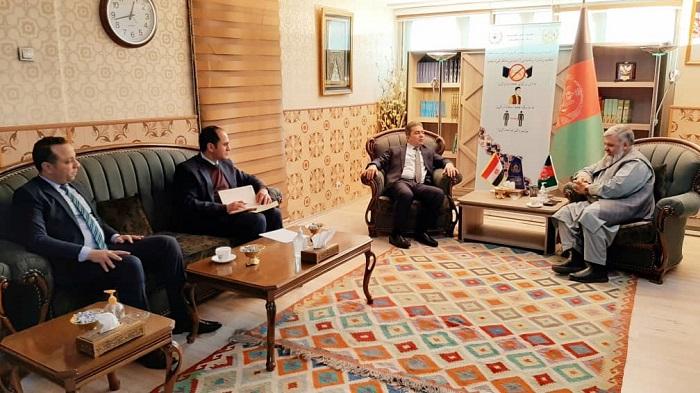 ملاقات تعارفی سفیر کشور مصر با وزیر ارشاد، حج واوقاف