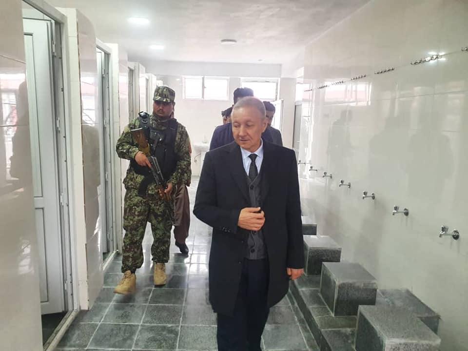 افتتاح مسجد جامعه ابوذرغفاری در مرکز ولایت سر پل