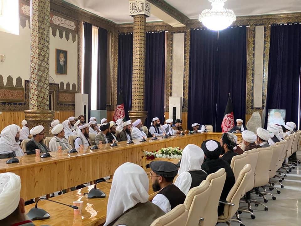 سفر وزیر ارشاد، حج واوقاف در راس هیئت از علما به ولایت هرات