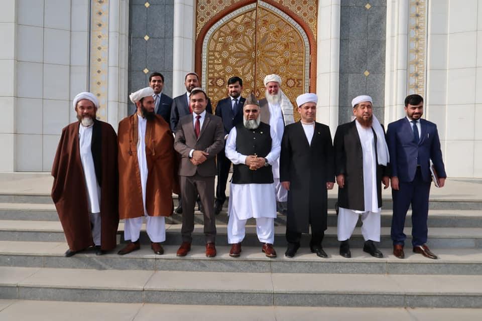 وزیر ارشاد، حج و اوقاف و هيّئت همراه، با مفتی ترکمنستان ملاقات نمود