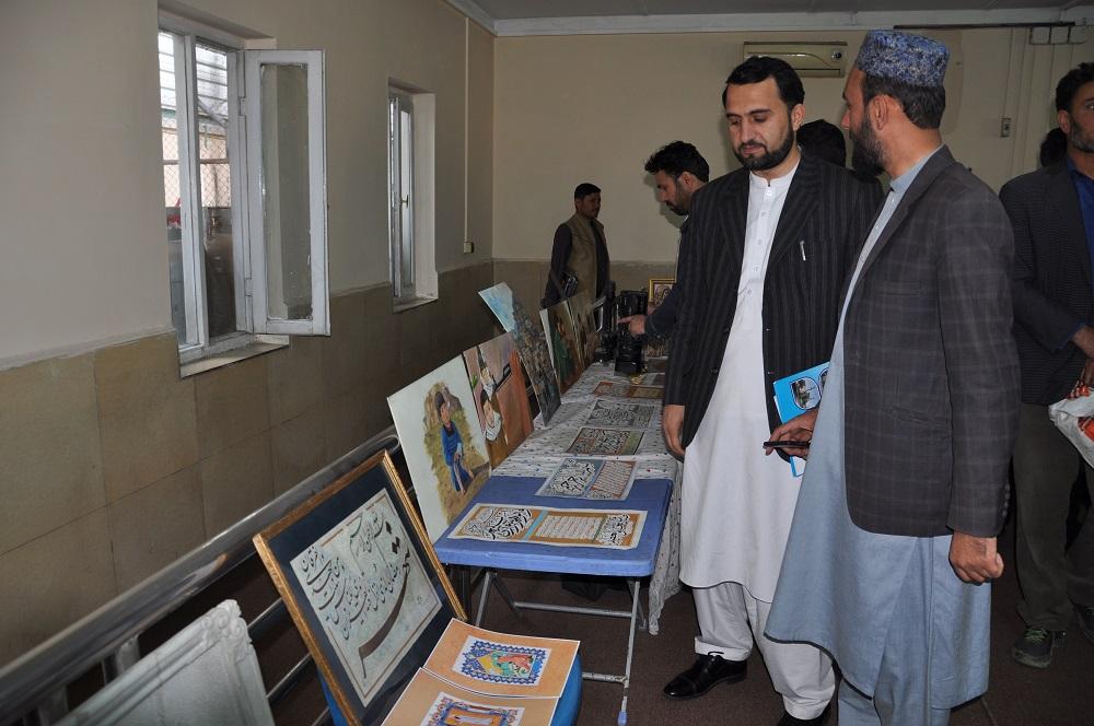 راه اندازی نمایشگاه خطاطی ، نقاشی و میناتوری