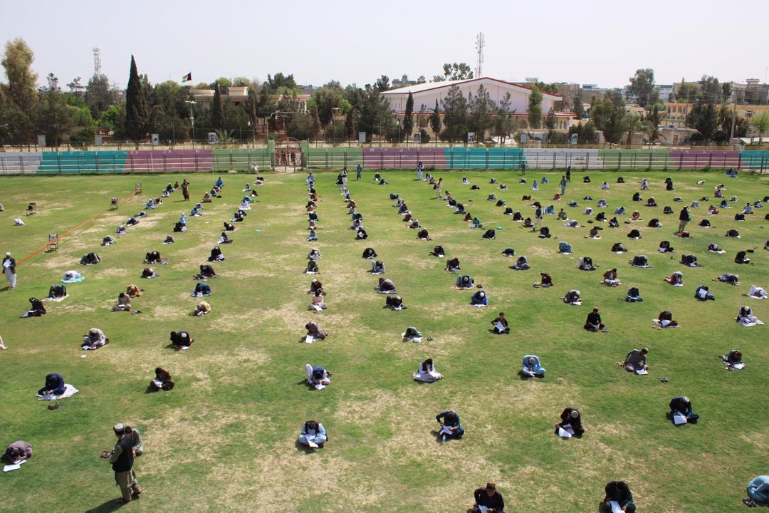 مسابقه سیرت النبوی (ص) به ارتباط صلح در ریاست ارشاد حج و اوقاف هلمند.
