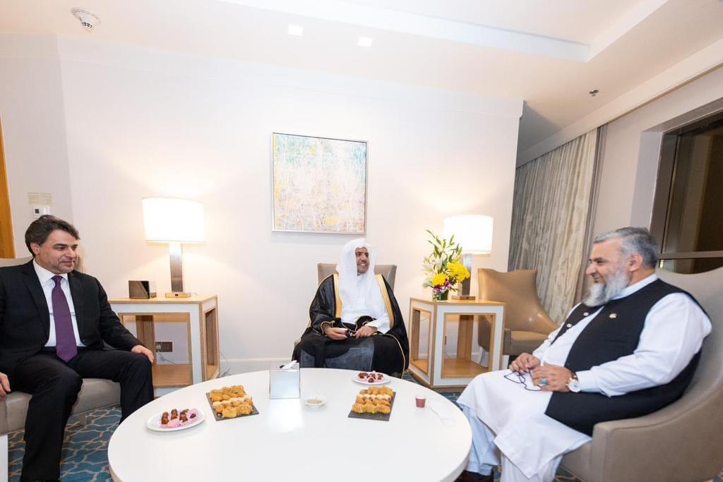 ملاقات وزیر ارشاد، حج و اوقاف با سکرتر جنرال رابطة العالم الاسلامي