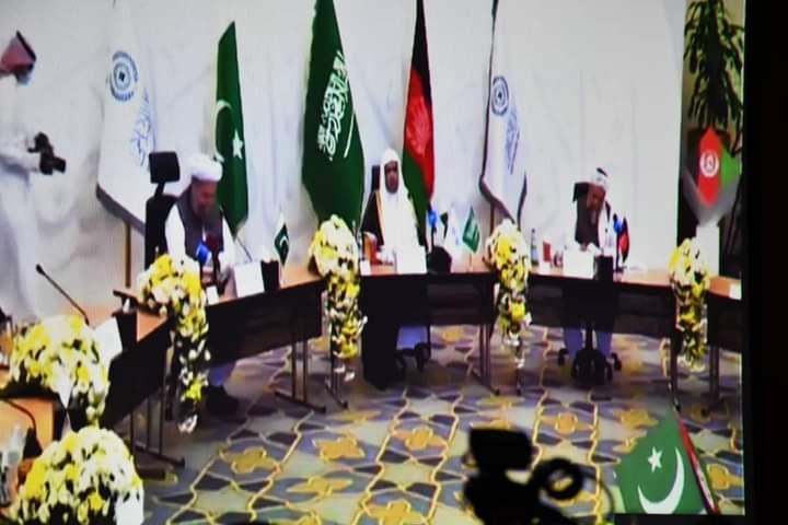 کنفرانس آنّپه سعودي عربستان کې د افغانستان او پاکستان علماوو په ګډون د افغانستان کې د سولې اعلان تر نامه لاندې نړیوال کنفرانس ترسره شو.لاین علمای افغانستان و پاکستان در مکه مکرمه برگزار شد